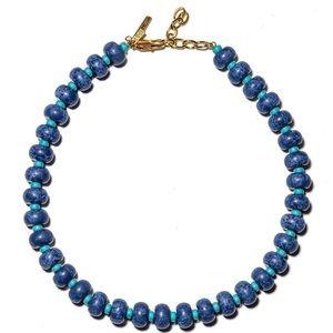 Lele Sadoughi Lapis Country Club Necklace